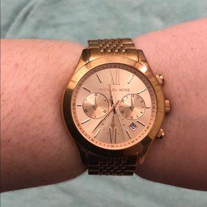 Michael Kors Rose Gold watch!!